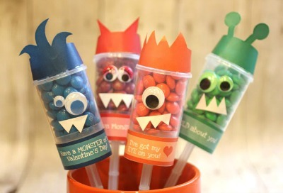 Monster Candy Push Pops