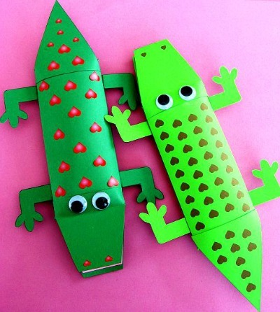 Alligator Valetine Candy Box