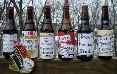 Handmade Beer Bottle Labels