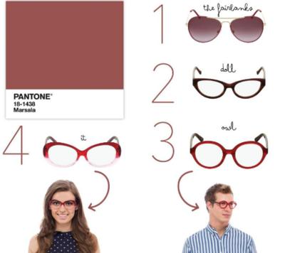 retro style glasses