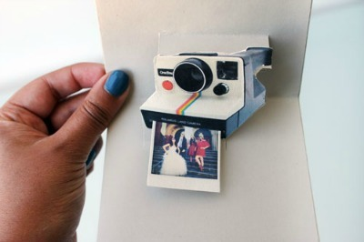Camera Pop-Up Card