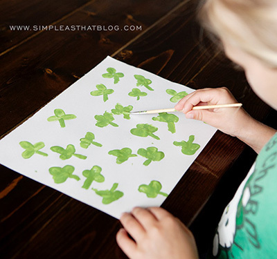 fingerprint shamrocks