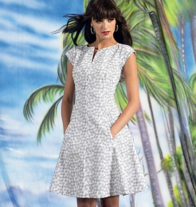 womens plus size Dress pattern