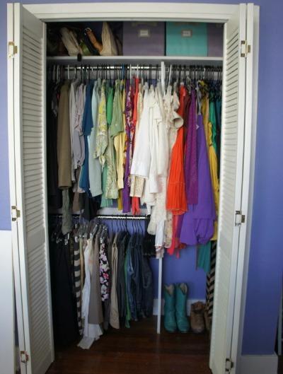 custom closet rods