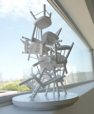 Doll Chair Jewelry Tree