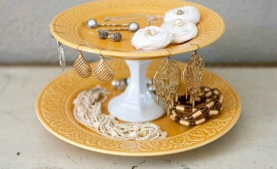 Cake Stand Jewelry Organizer