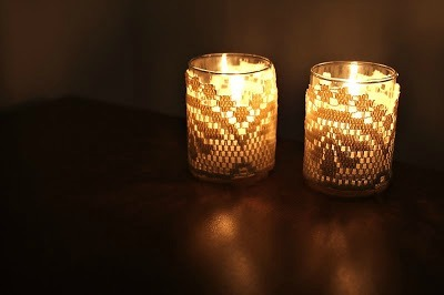 Lace Candle Votive