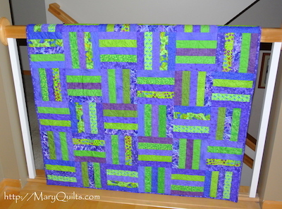 split rail strip quilt pattern