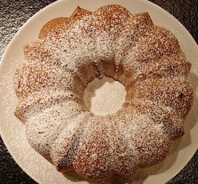 gluten free Almond bundt cake