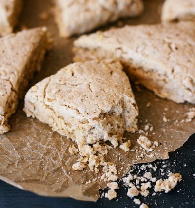 gluten free maple scones