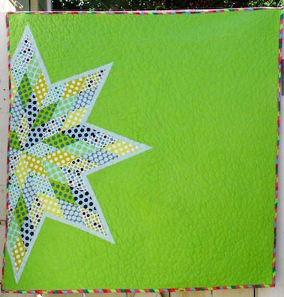 modern lone star quilt