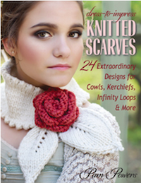 dress to impress knitted scarves book