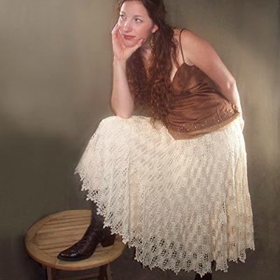 Full Knit Lace Circle Skirt
