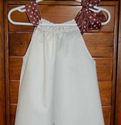 girls Pillowcase dress pattern
