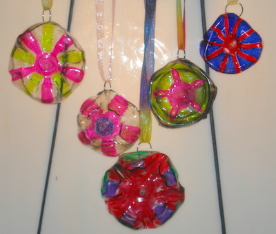 plastic Bottle Pendant Necklaces