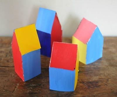 Mini Cardboard Houses