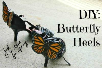 Butterfly Back Heels