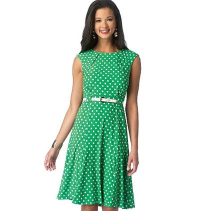 butternick sleeveless dress pattern