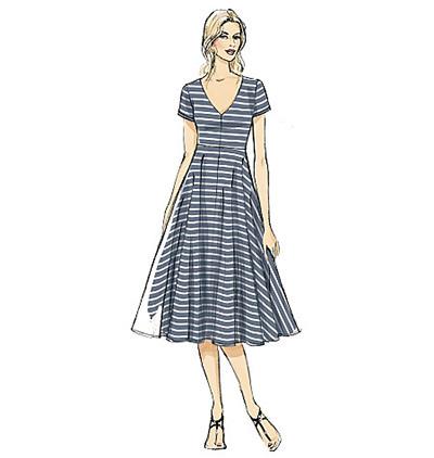 short sleeve pullover dress pattern
