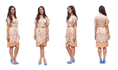 Nicola Wrap Dress pattern