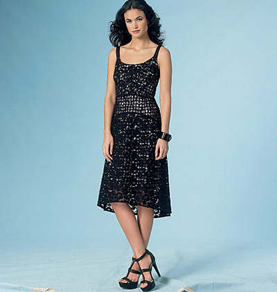 lace vogue dress pattern