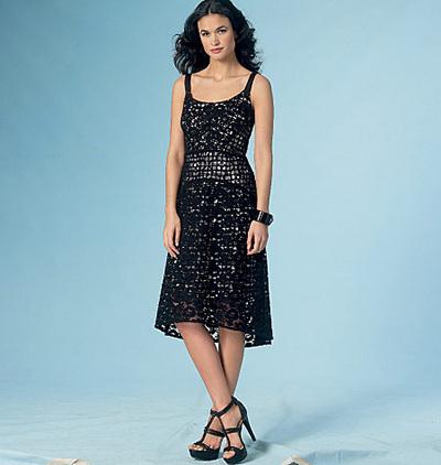 lace vogue dress pattern
