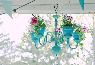 Planter Pot Chandelier