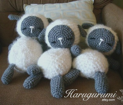 Unbelievably Adorable Crocheted Lambs And Sheep Craftfoxes
