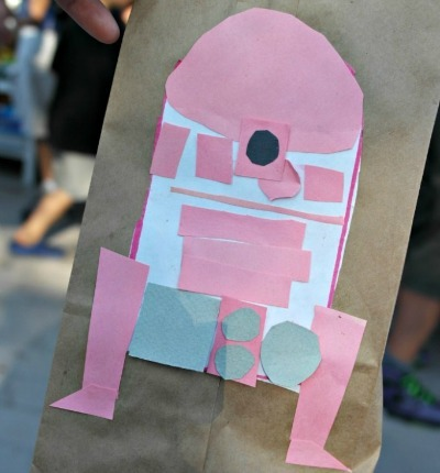 R2D2 Party Favor Bag