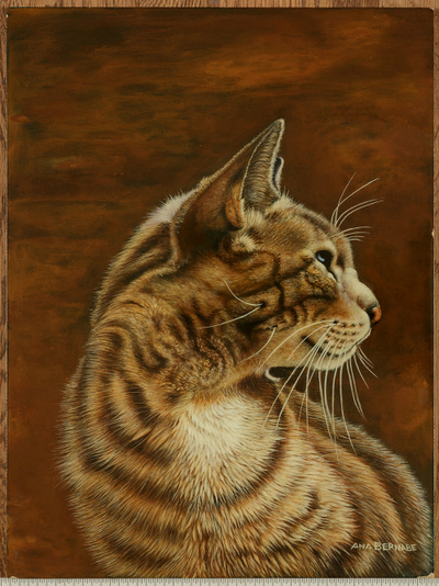decorative painting cat
