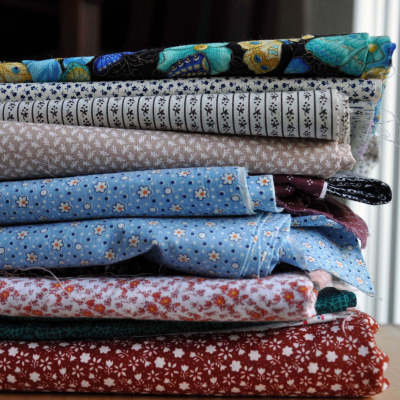 stacking fabric for storage