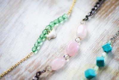Beaded Chain Bracelets