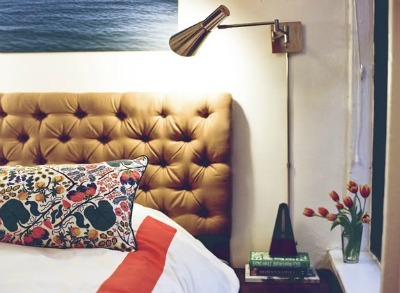Tufted Velvet Headboard