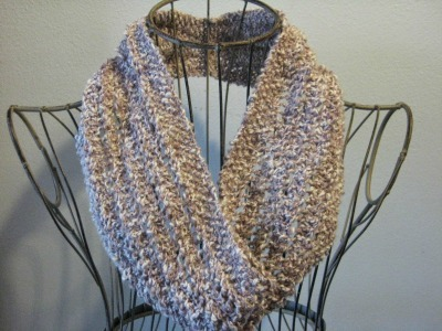 Ladder-Lace Cowl