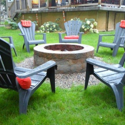 DIY Fire Pit, DIY Backyard BBQ, Homemade Fire Pit