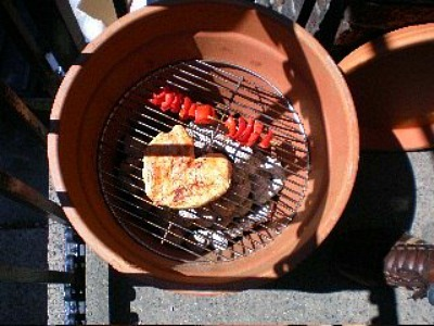 DIY Flower Pot Grill, DIY Flower Pot Smoker, DIY BBQ Ideas