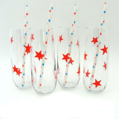 star glasses for july fourth