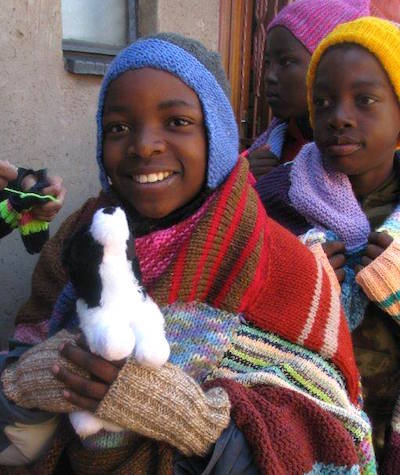 knit a blanket for south africa orphans