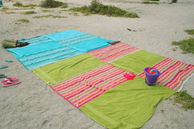 giant beach party blanket