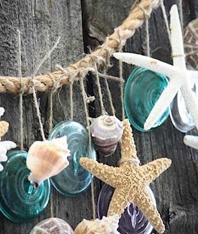 beach garland DIY