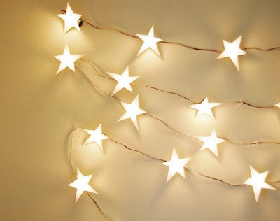 star twinkle light garland