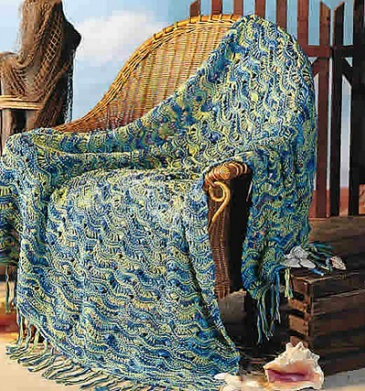 Summer blanket knitting pattern