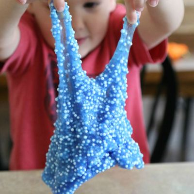 Homemade Floam, DIY Floam, DIY Kids Crafts