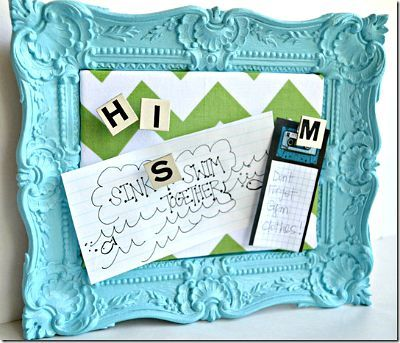DIY Locker Message Board, Foam Core Message Board, DIY Locker Crafts