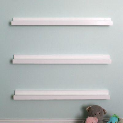 DIY Book Ledge, DIY Book Shelf, DIY Weekend Wall Decor Project