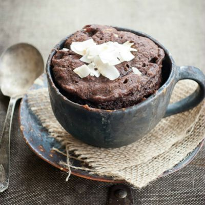 DIY Chocolate Healthy Mug Cake, Healthy Chocolate Dessert Recipes
