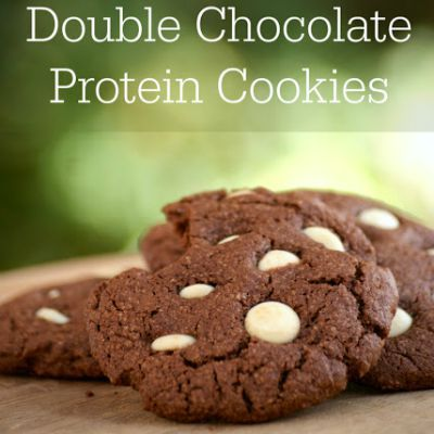 DIY Healthy Chocolate Desserts, Homemade Chocolate Chip Protein Cookies