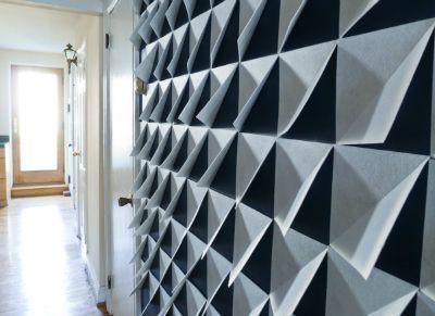 3D Felt Wall Panels