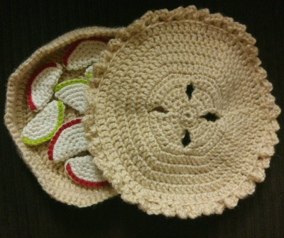 Crochet Amigurumi Apple Pie