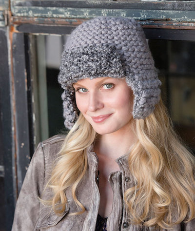 aviator cap knitting pattern